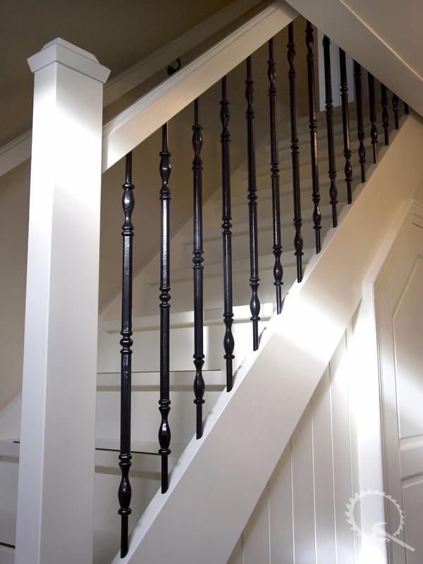 Soorten houten trappen trap in beeld mahonie kwart for Goedkope spiltrap