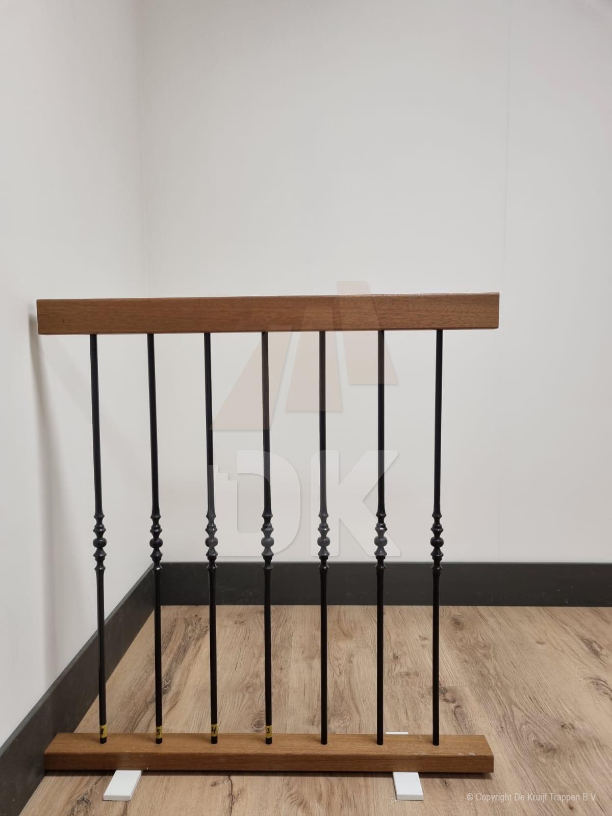 Balustrade smeedijzeren spijlen - S1007