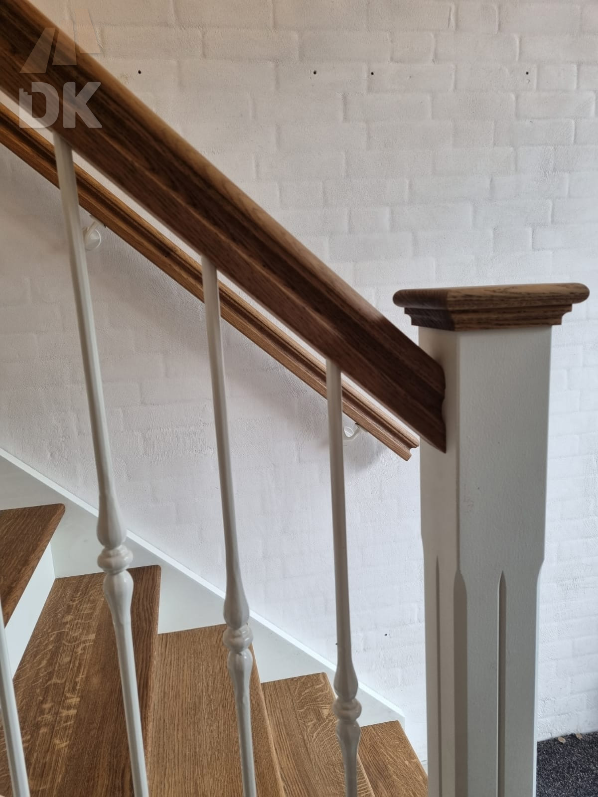 Prachtige klassieke eiken trap - Foto 14