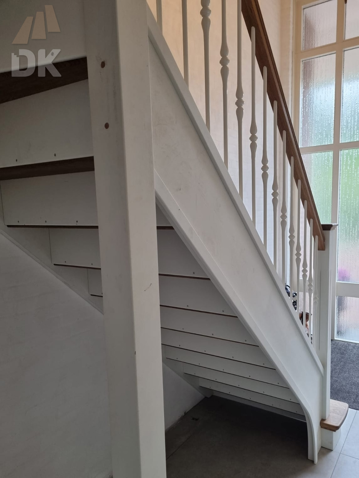 Prachtige klassieke eiken trap - Foto 15