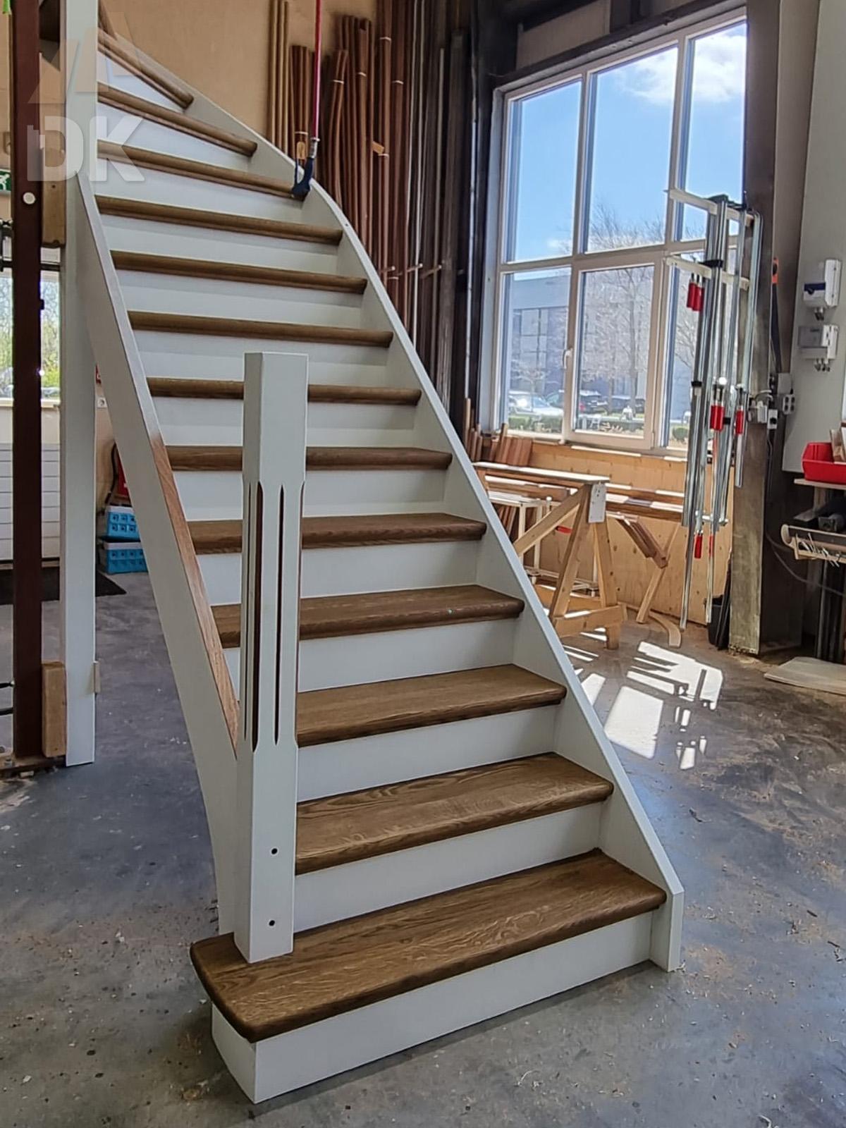 Prachtige klassieke eiken trap - Foto 22