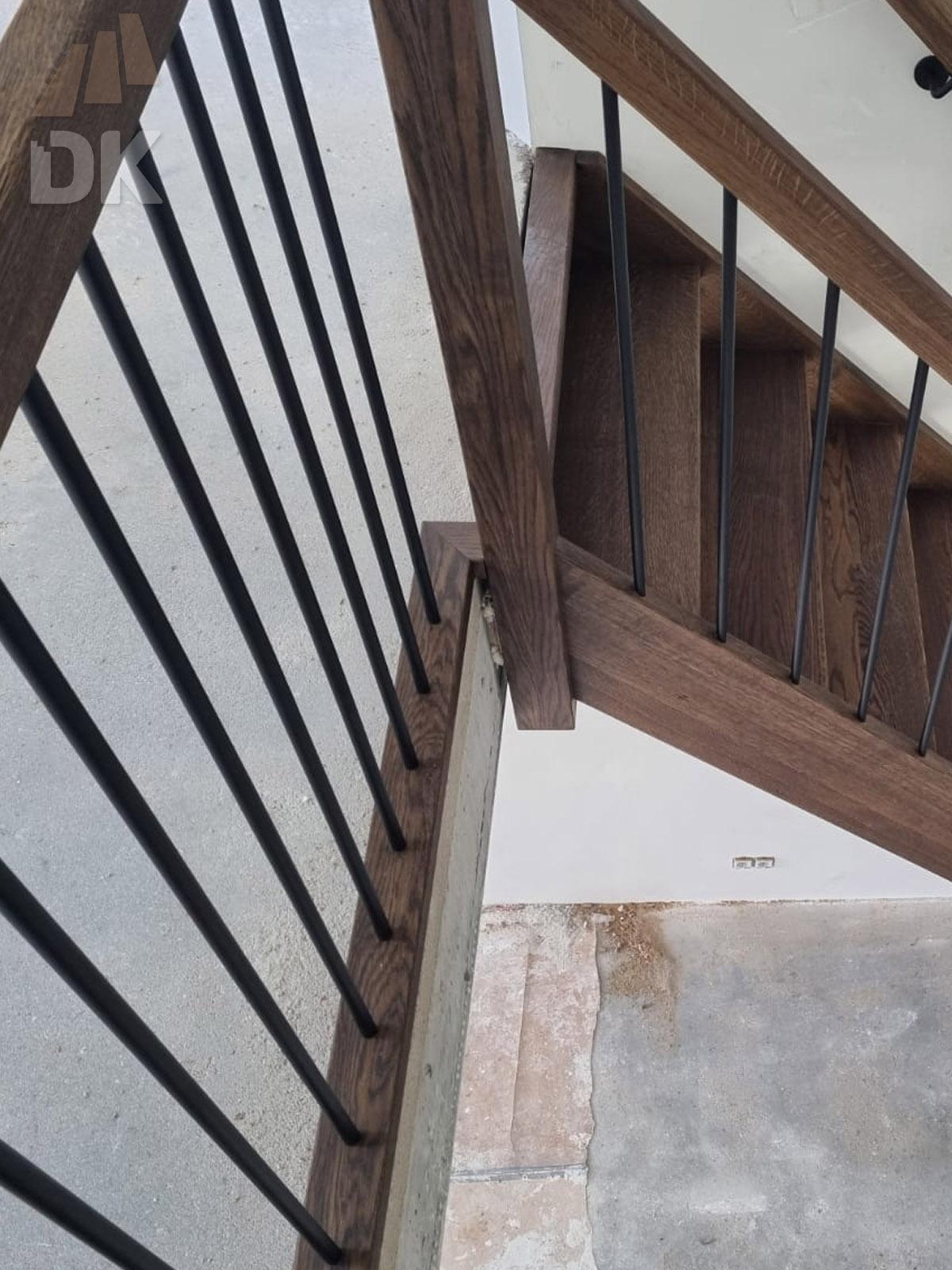 Eiken open kwart trap - Foto 9