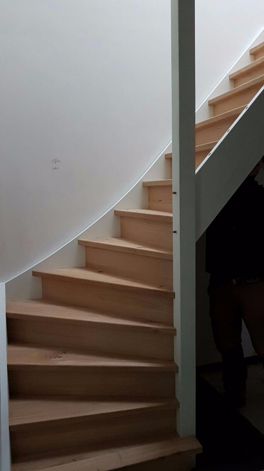 Rustiek eiken trap - Foto 2