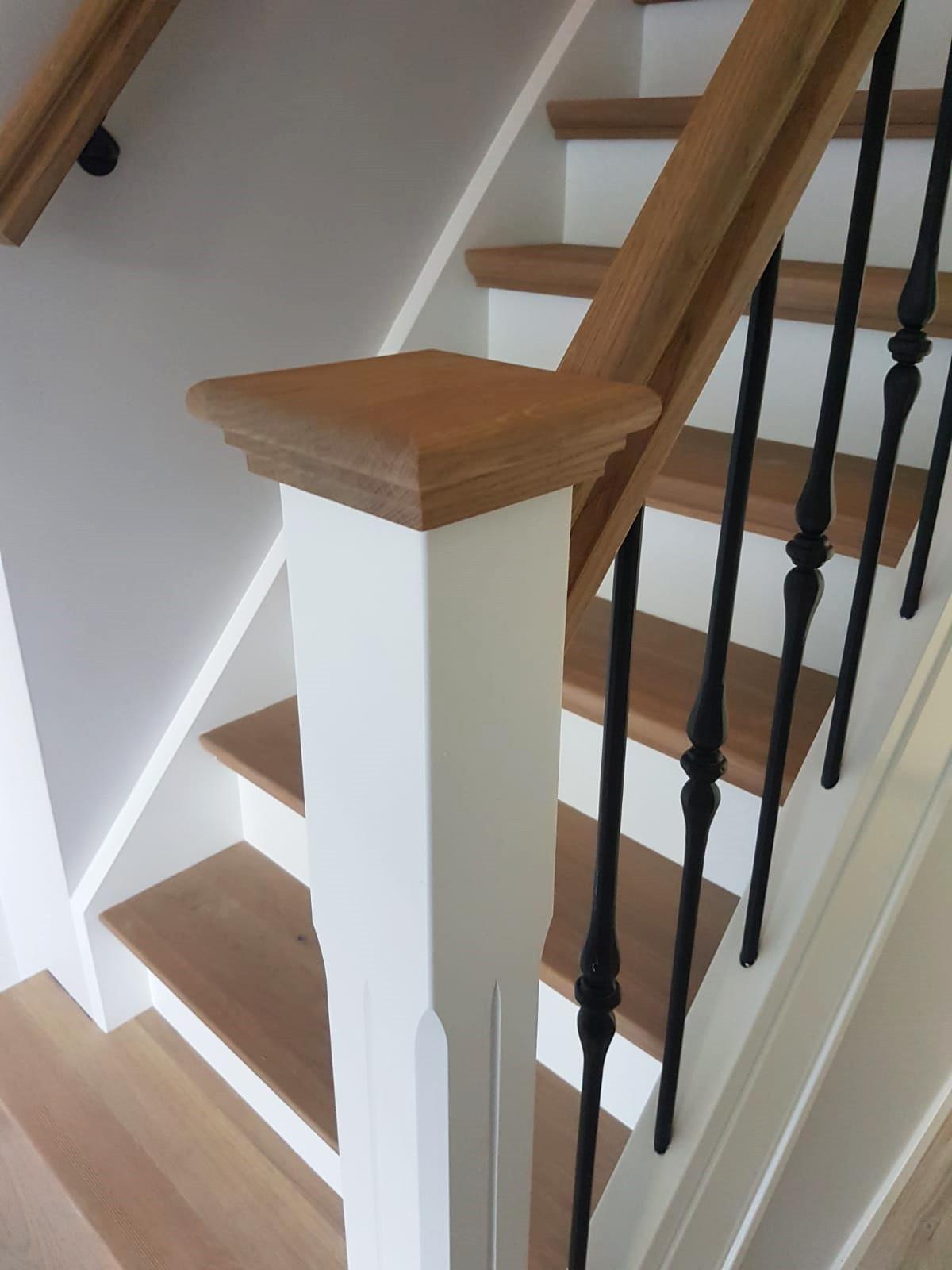 Nieuwe trap smeedijzeren spijlen - Foto 4