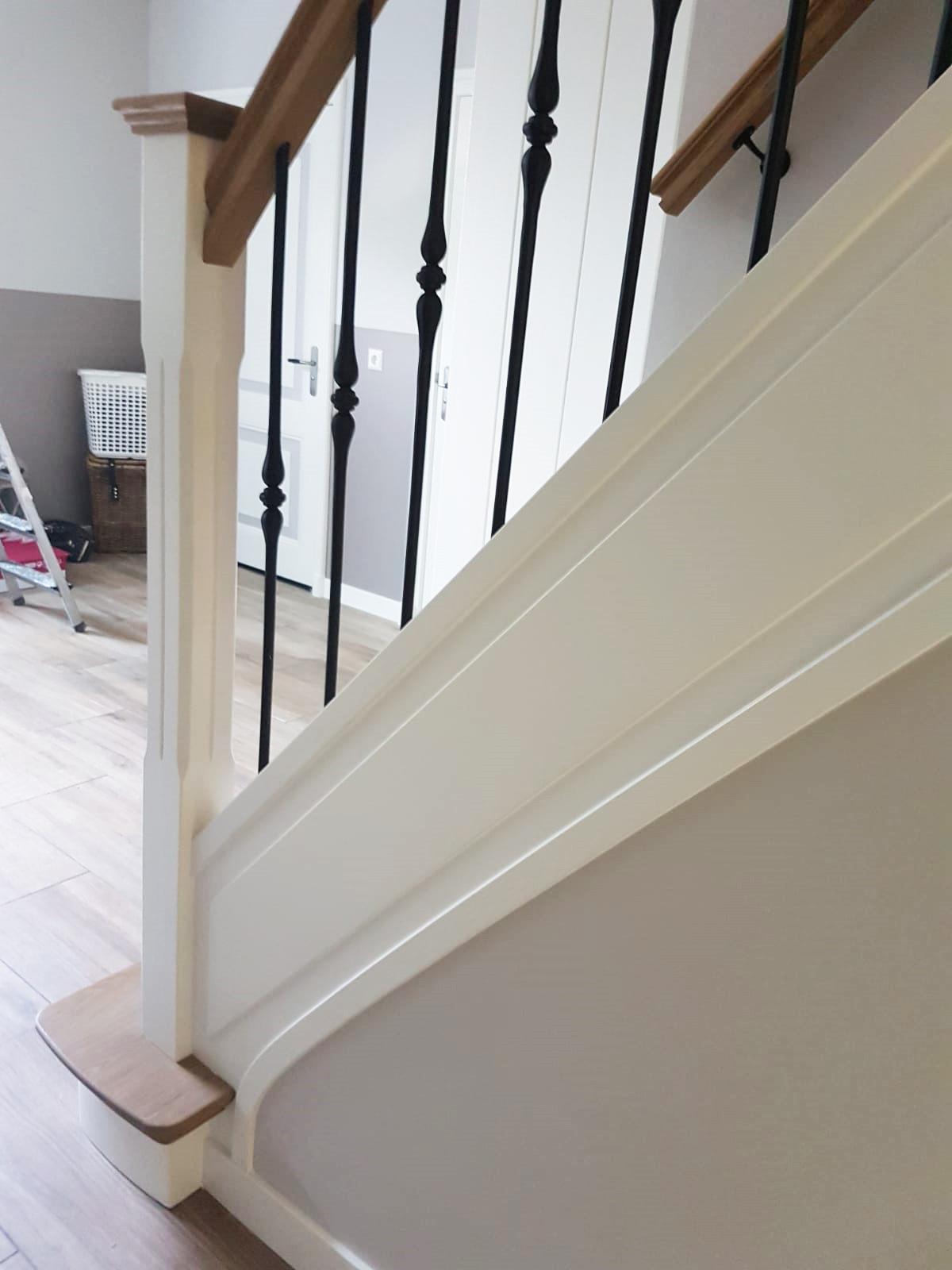 Nieuwe trap smeedijzeren spijlen - Foto 7