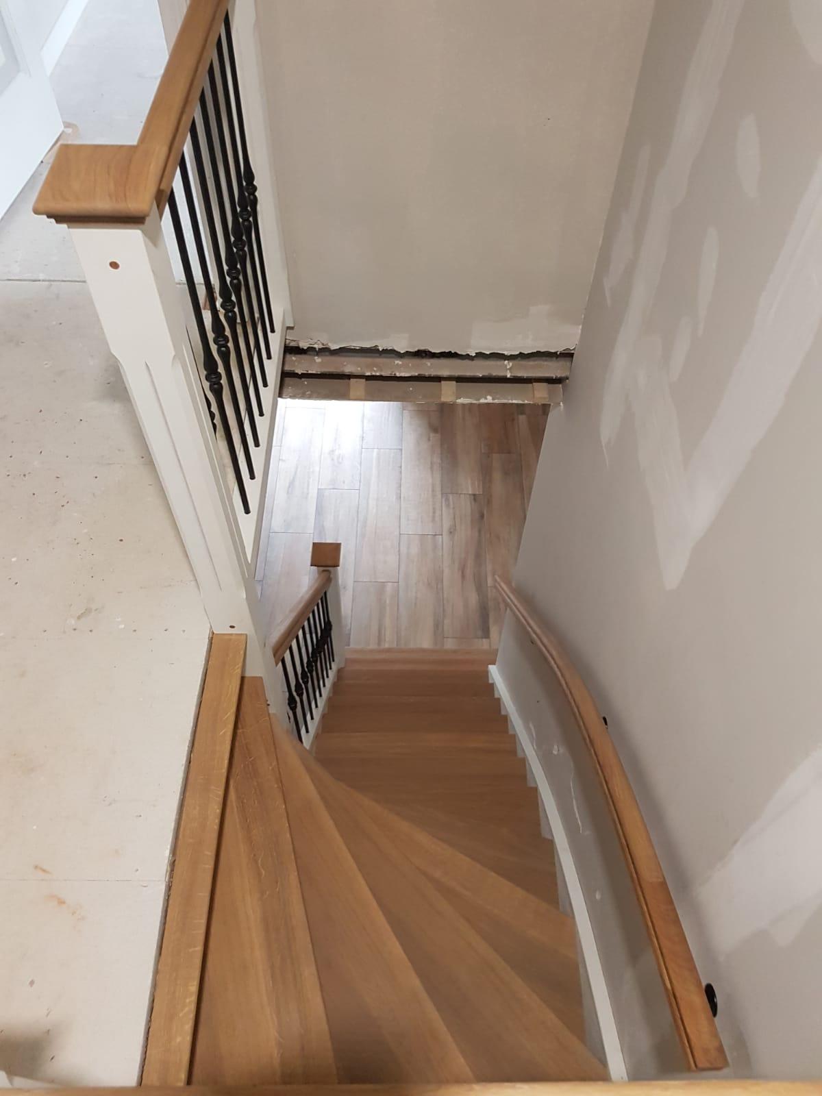 Nieuwe trap smeedijzeren spijlen - Foto 9