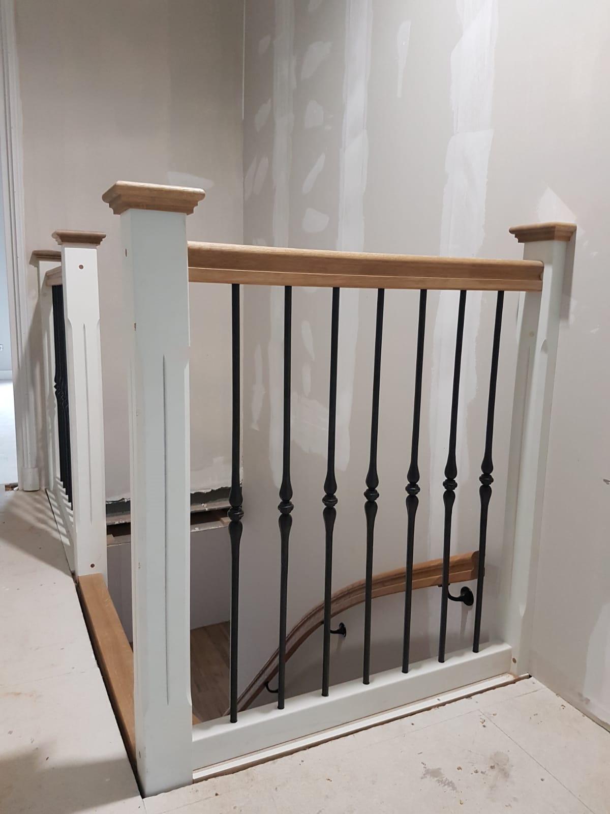 Nieuwe trap smeedijzeren spijlen - Foto 8