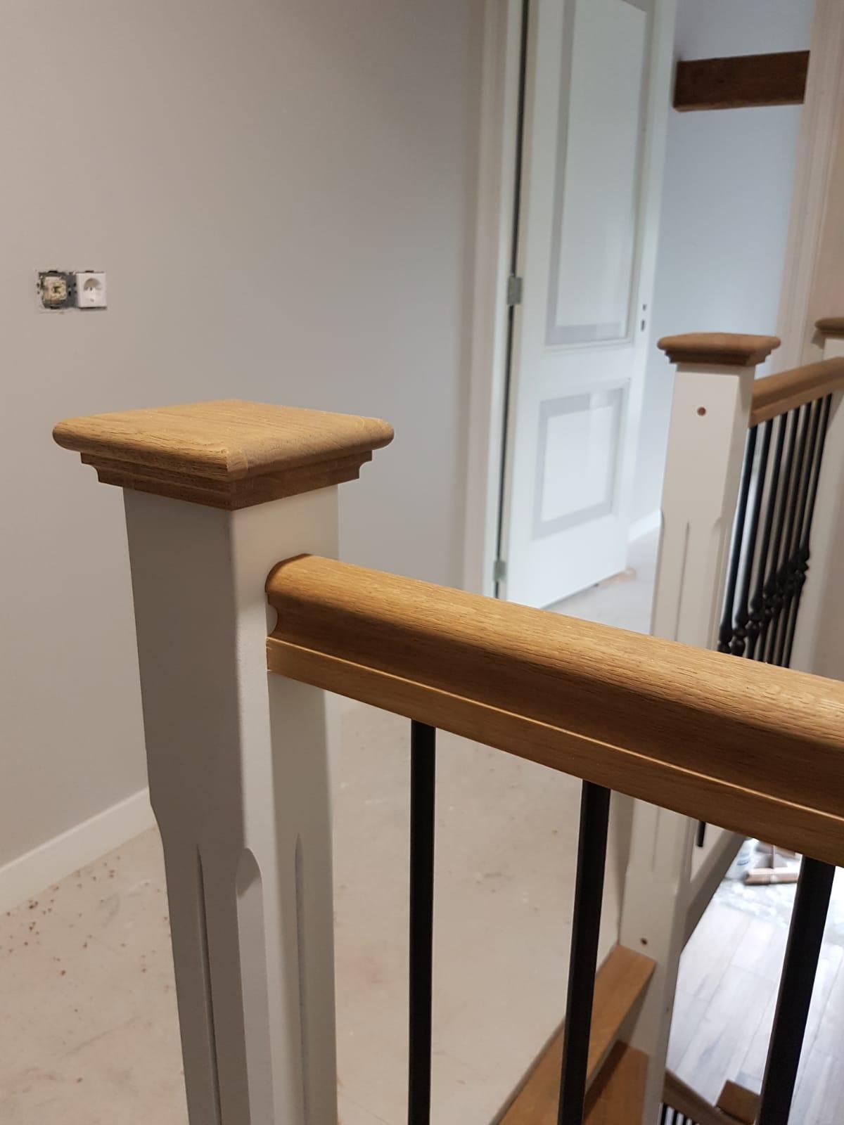 Nieuwe trap smeedijzeren spijlen - Foto 10