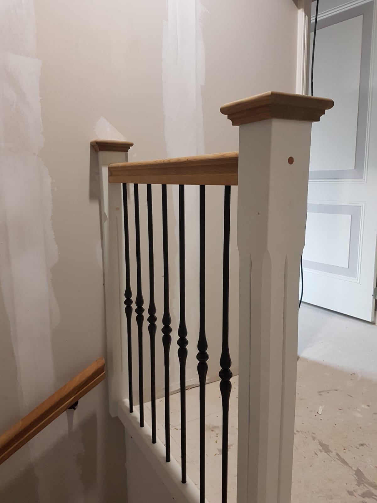 Nieuwe trap smeedijzeren spijlen - Foto 11