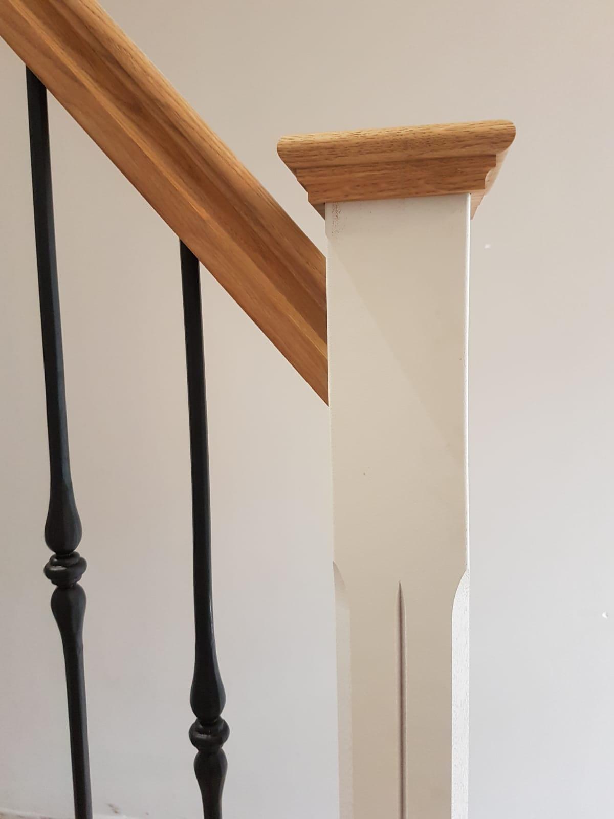 Nieuwe trap smeedijzeren spijlen - Foto 13