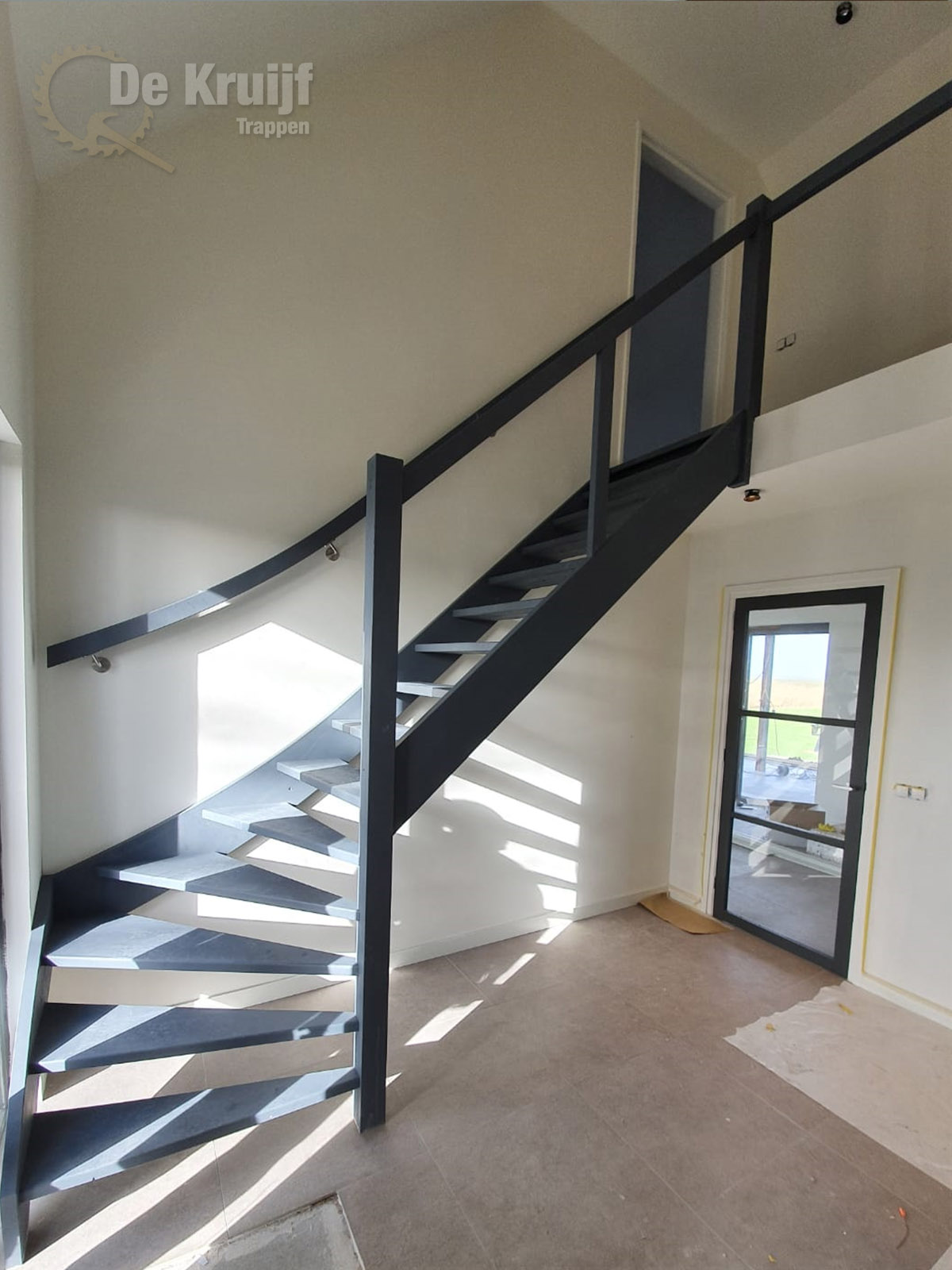 Open kwart trap met balustrade - Foto 2