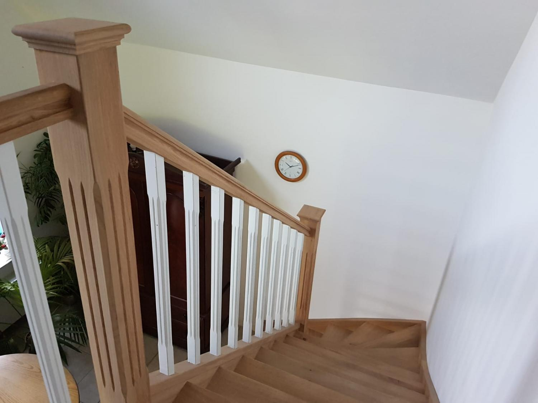 Rustiek open eiken trap - Foto 10