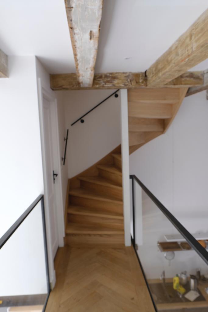 Spiksplinternieuw Soorten houten trappen - Trap in beeld - Eiken trappen, jaren '30 AX-82
