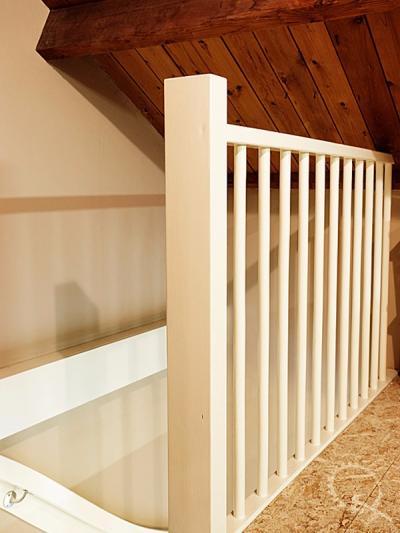 Soorten houten trappen trap in beeld foto 39 s en for Balustrade trap