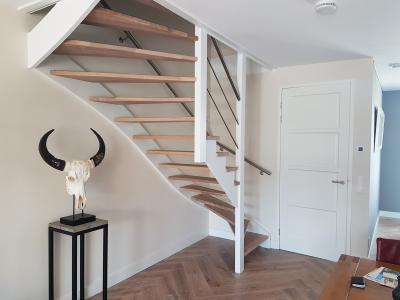 Soorten houten trappen type trappen open trap
