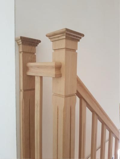 Bewerkingen Eiken trap - Foto 1