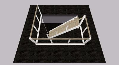 Hardhouten trap - Foto 5