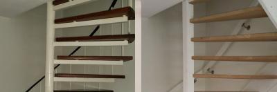 Stalen trap vervangen