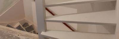 Vaste trap naar zolder; de kosten