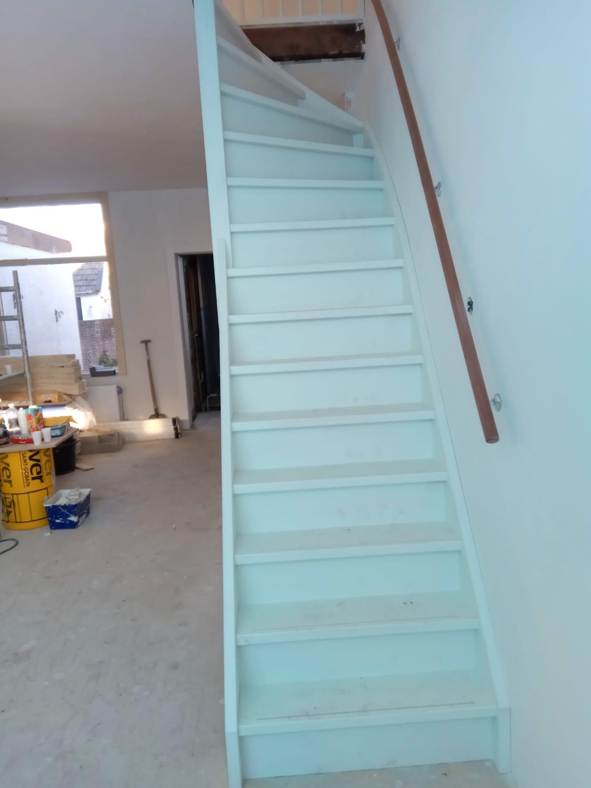 Houten trap, bovenkwart - Foto 2