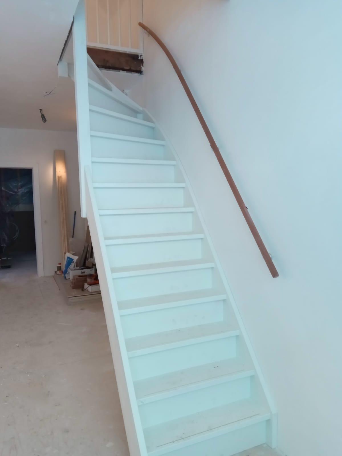 Houten trap, bovenkwart - Foto 1