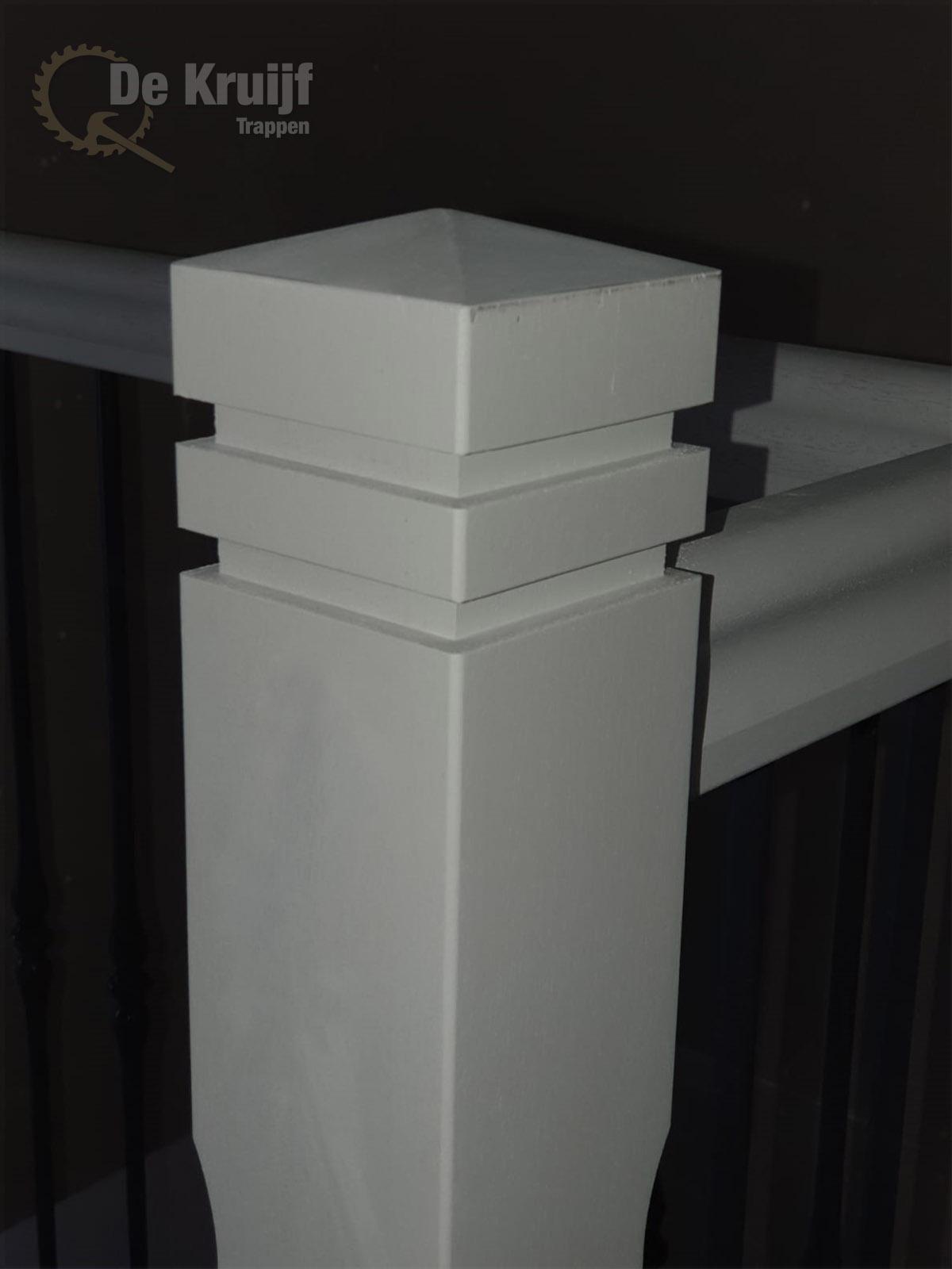 Witte mahonie trap - Foto 5