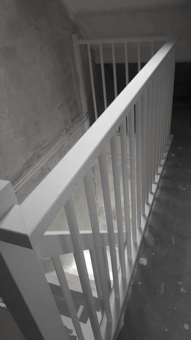 Vuren houten trap - Foto 3